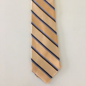 Michael Kors Silk Tie Gold and Blue